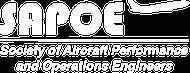 SAPOE logo white