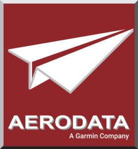 Aerodata a Garmin Company Logo